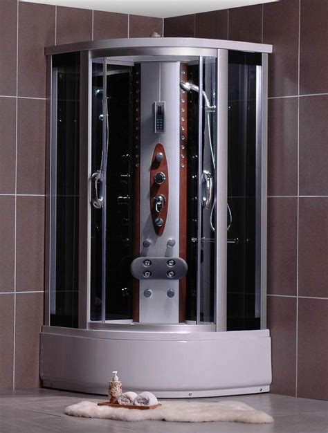 cabina doccia con vasca box doccia idromassaggio 90x90 modello angolare con vasca