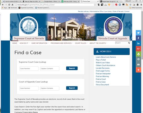 Nevada Access Court Records Nevada Court Of Appeals Expands Access To Files Makes Documents Available For