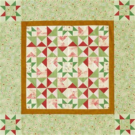 American Patchwork Quilt - color options from american patchwork quilting june 2012