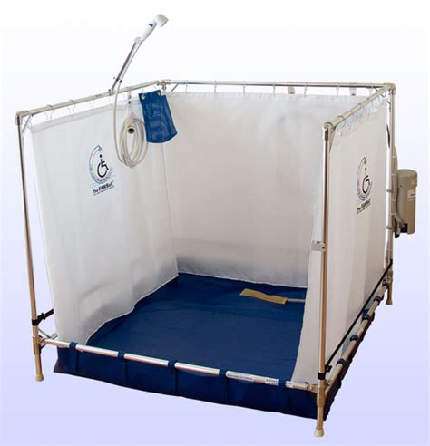 Portable Handicap Shower by Portable Shower Stall Fawssit B5000 Bariatric