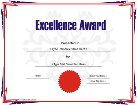 23 Best Award Certificate Templates Sle Templates How To Create Certificate Template