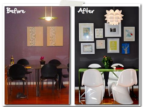 Dining Room Makeovers Before And After Dwellers Without Decorators 7 Omg Room Makeovers