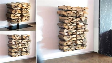 flooring ideas diy indoor firewood storage rack modern