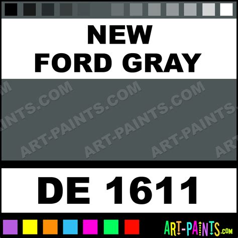 new ford gray engine enamel paints de 1611 new ford gray paint new ford gray color dupli