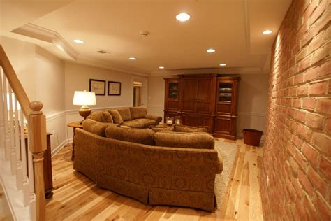 brick basement walls hamilton va basement finish traditional basement dc metro by matthew bowe design build llc