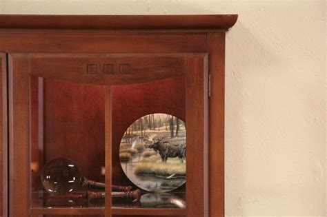 vintage ethan allen curio cabinet sold ethan allen lighted china or curio cabinet