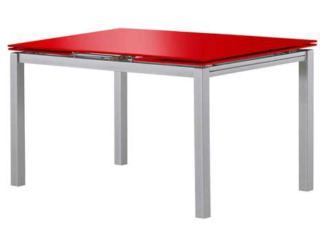 table cuisine rectangulaire table rectangulaire avec allonge 200 cm max tokyo 3