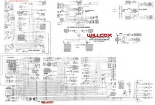 1977 corvette tracer wiring diagram tracer schematic willcox corvette inc