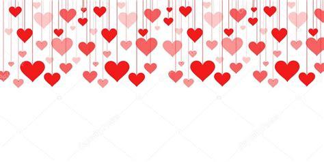 imagenes vectores san valentin bandera de una guirnalda de corazones vector fondo de san