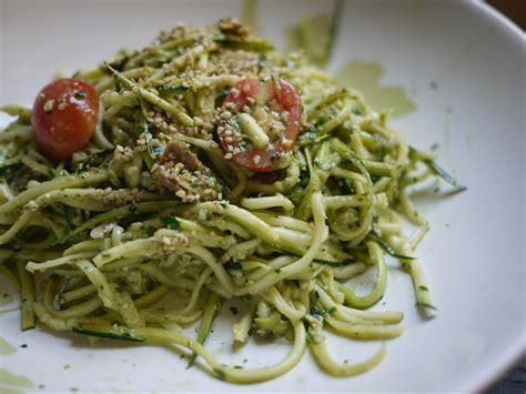 zucchini quot spaghetti quot recipe dishmaps