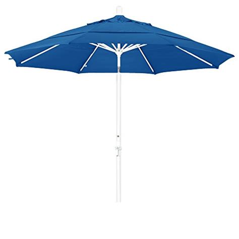 california umbrella 11 round aluminum market umbrella