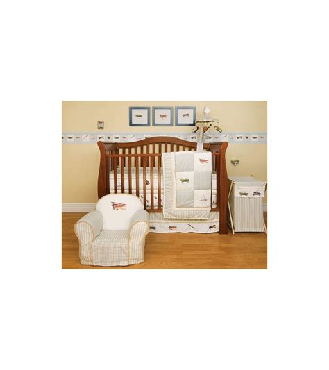 kidsline antique 6 crib bedding set