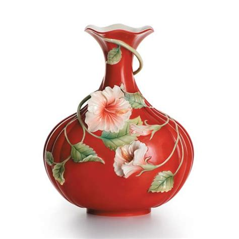 franz vase franz hibiscus island vase vases and candlesticks