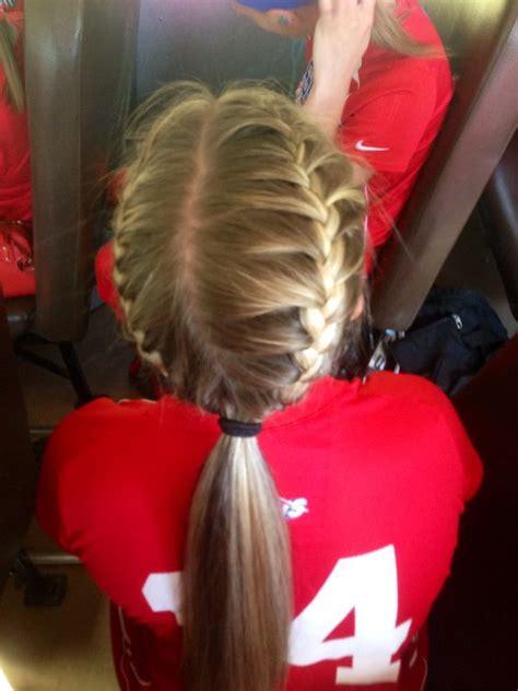 Softball Hairstyles by Softball Hair Softball Hairstyles Bows