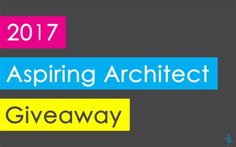 Money Giveaway 2017 - the 2017 aspiring architect giveaway the aspiring architect