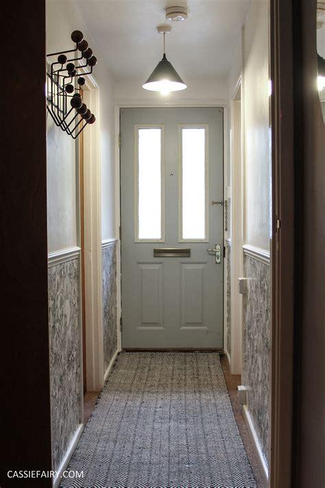 my home interior monochrome home interior design black and white decor hallway makeover dado rail rug 23