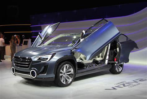 subaru viziv doors subaru viziv 2 concept cars drive away 2day