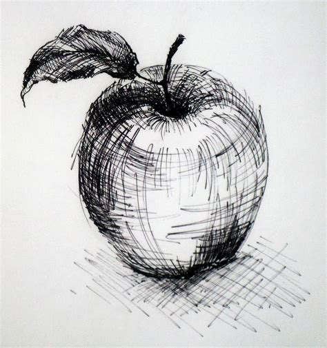 Sketches Def by Cross Hatching With The Combination Use Of Layering And