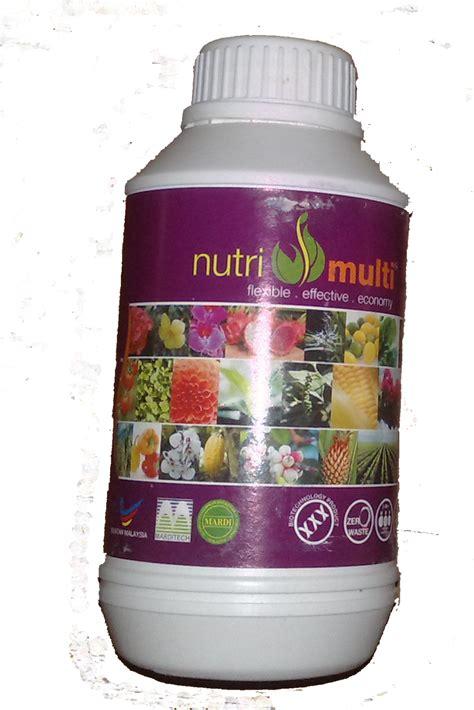 lparutan multi pungsi aura multi dan bioimmunizer untuk tanaman hias