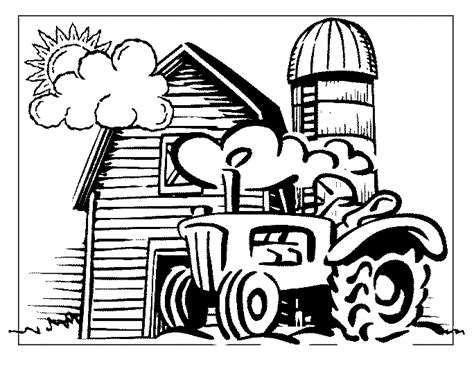 farm coloring pages coloring pages to print