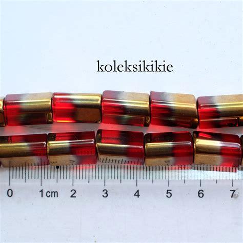 Manik Logam 204 Tabung Merah gb pipa segitiga merah koleksikikie