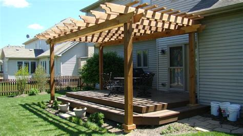 open roof pergola arbors