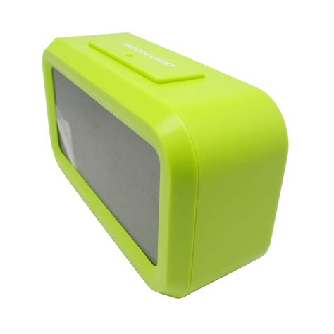 Clock Jam jam lcd digital clock with alarm jp9901 green