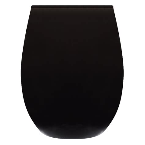 colored stemless wine glasses custom 9 oz arc colored stemless wine glasses c8832b