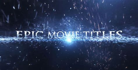 epic film titles epic movie titles by ninjainc videohive