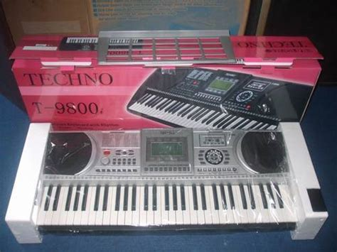 Techno T 9890sd Keyboard 61 With 16 Channels And Usb Port techno t 9800 hanselectronik