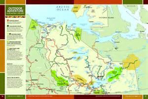 map of northwest territories canada northwest territories outdoor adventure map northwest