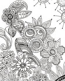 free doodle to doodle designs artist s coloring book 31 stress relieving