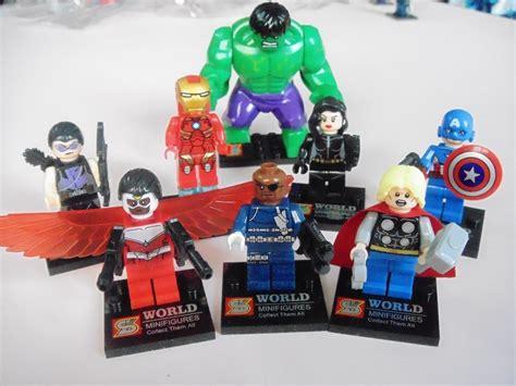 Lego Kw Lebq Nick Fury cole 231 227 o 8 bonecos vingadores marvel thor