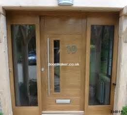 Modern Front Doors Uk Contemporary Doors Made To Measure From European Oak New House