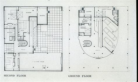 villa savoye floor plan id 1330 src le corbusier villa savoye exterior view