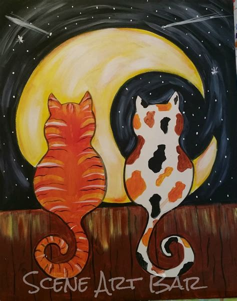Acrylic Cat our library features all of the paintings available