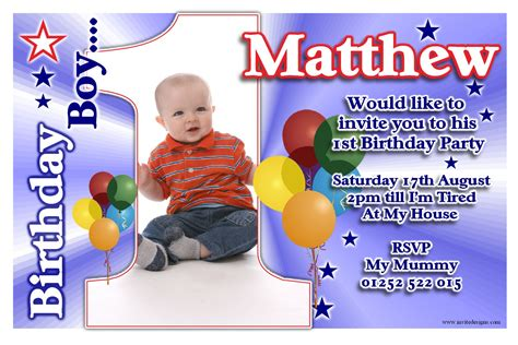 exles of 1st birthday invitations free printable 1st birthday invitations boy template free invitation templates drevio
