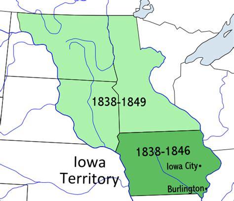 iowa territory