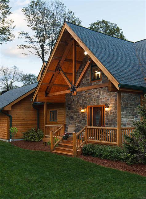 log homes magazine home design