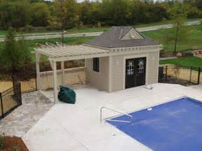Small Pool House Pool Houses By J J Construction