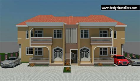 Duplex House Plan by Designed Home Plans