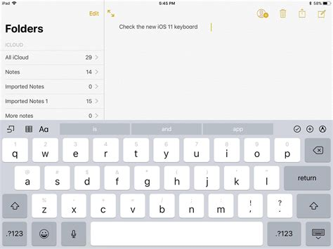 keyboard layout for ipad 5 ways ios 11 will change your ipad cnet