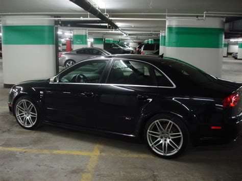 Audi Rs4 2007 by Audi Rs4 2007 Black