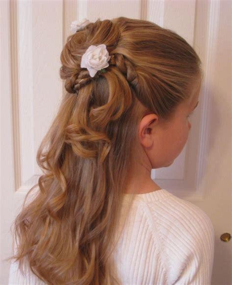 frisuren für lange haare kinder die besten 17 ideen zu kommunion frisuren auf frisuren konfirmation kommunion und
