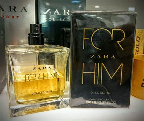 Parfum Zara For Him perfume zara for him gold edition masculino 50ml presente