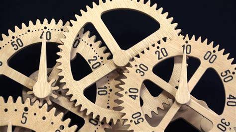 balberto wooden gear clock plans