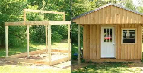 Building A Cabin Cheap by Cheapest Way To Build A Shed