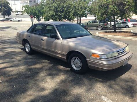 how cars run 1997 ford crown victoria auto manual purchase used 1997 ford crown victoria lx 4 6l v8 beige original low mileage runs good in
