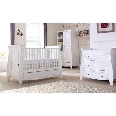 Lucas White 3 Piece Room Set Nursery Furniture Set Baby 3 Nursery Furniture Set White
