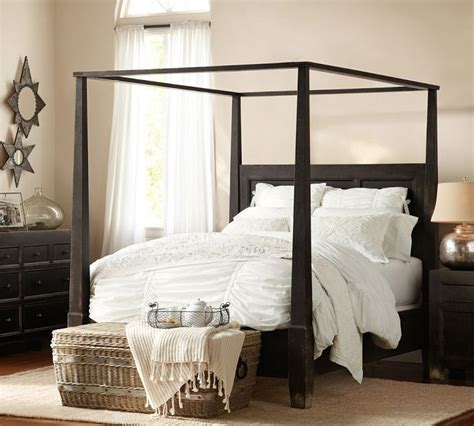 Pottery Barn Canopy Bed Pottery Barn Dawson Bed New House Master Bedroom Pinterest Quilt And Canopy Beds